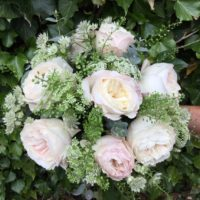 Pale pink summer bouquet