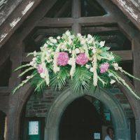 Porch Arch Arrangement