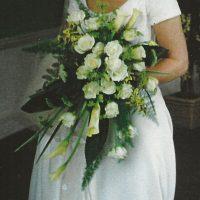 White Shower Bouquet
